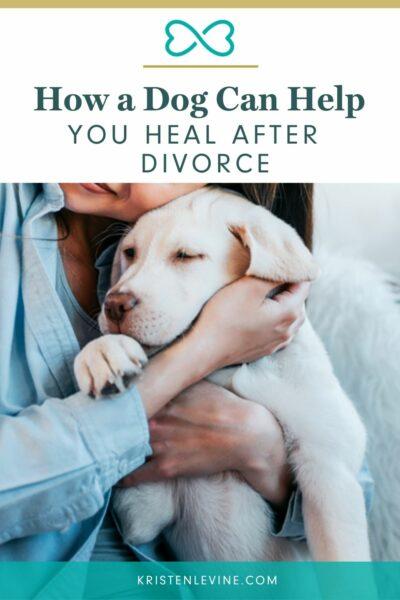 Dogs can heal broken hearts