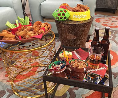 The big game snack spread