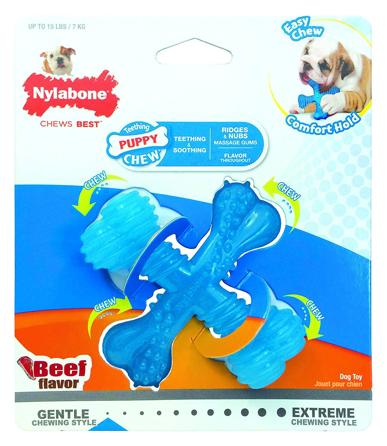 Nylabone puppy toy