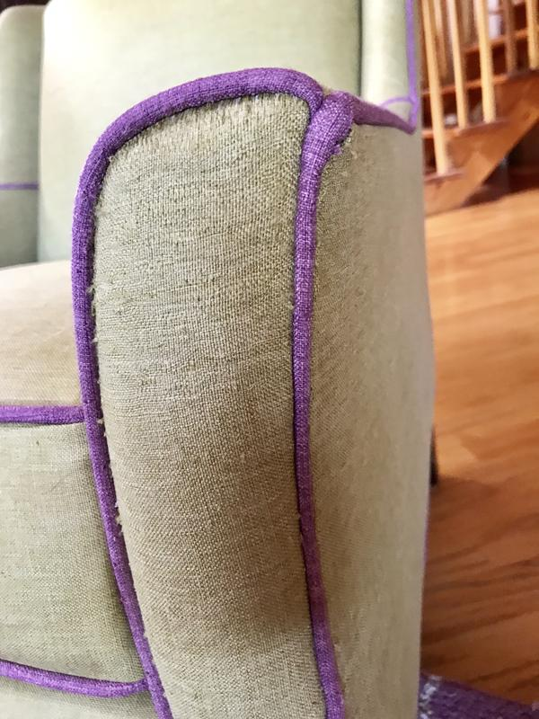 Cat scratched chair-after