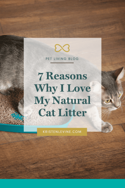 I love this natural cat litter and I think you will, too!