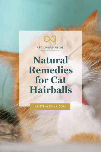 Get natural remedies for your cat's hairballs!