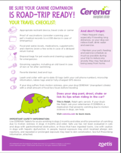 Are you traveling with your dog? You'll want this checklist!
