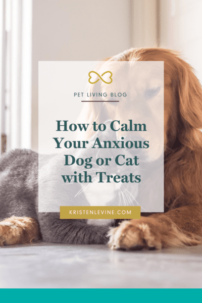 Is your pet feeling anxious? These treats can help them stay calm.