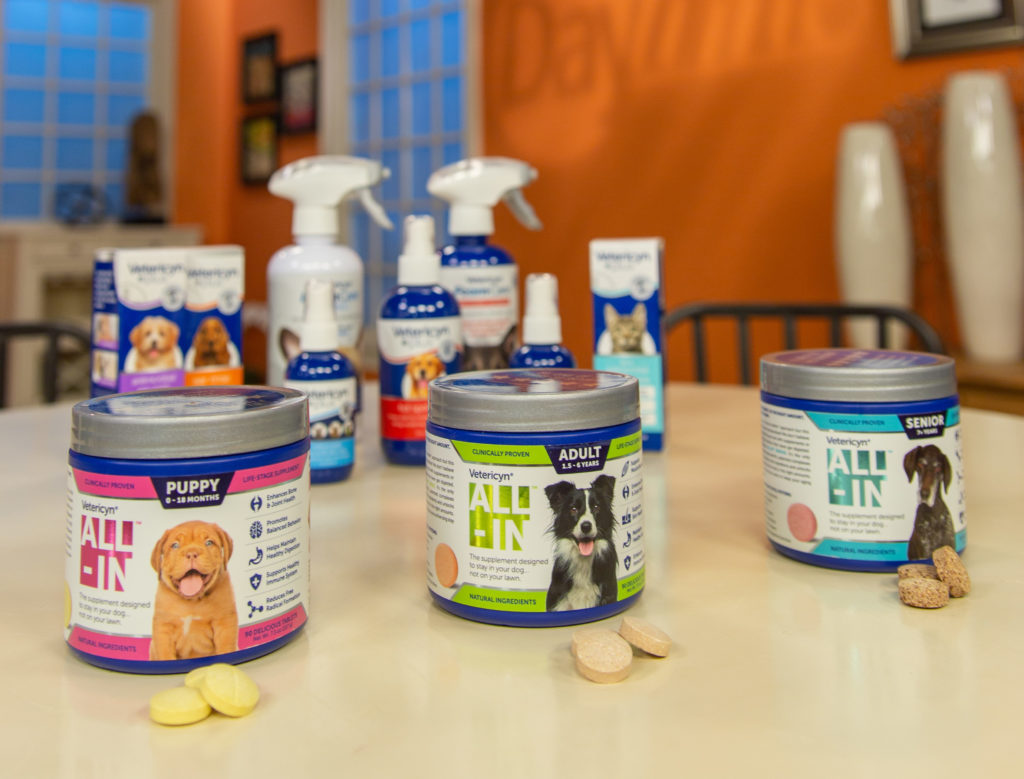 Vetericyn's new ALL-IN supplement for dogs.