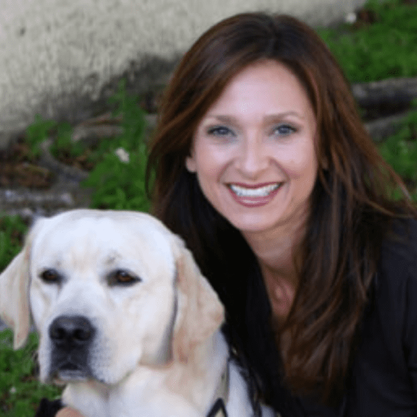 Dr. Lisa Radosta supports Pet Anxiety Awareness Month