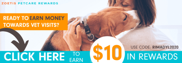 Earn $10 now with Zoetis Petcare Rewards