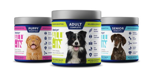 A digestive supplement like ALL-IN may help with your dog's anxiety
